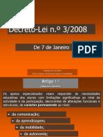 Decreto Lei n3/2008