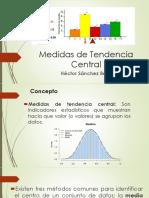 B) Medidas de Tendencia Central