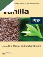 Vanilla Medicinal and Aromatic Plants Ind Profiles
