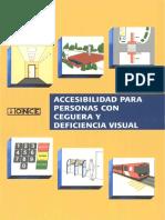 Accesibilidad Para Personas Con Ceguera y Dificultad Visual