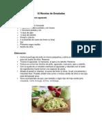 10 recetas de Ensalada.docx