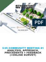 North Center Town Square Final Concept Design June 2017
