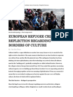 Borders of Culture - Yen Pham