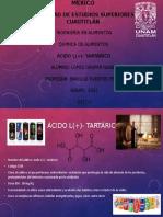 Ácido L(+)- tartárico.pptx