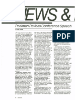 Elder Poelman Revises Conference Speech