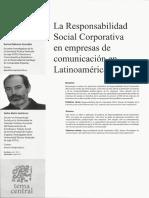 Ls RSC en Empresas de Comunicaciòn en Latinoamèrica