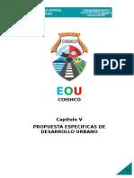 5.Capitulo v-propuestas Especificas de Desarrollo Urbano
