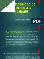2. Sustentabilidad de Los Recursos Minerales