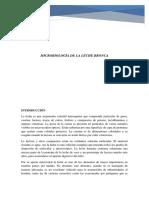 Microbiologia de La Leche