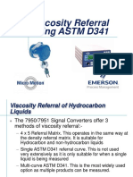 MMI Training Viscosity Referrel ASTM D341