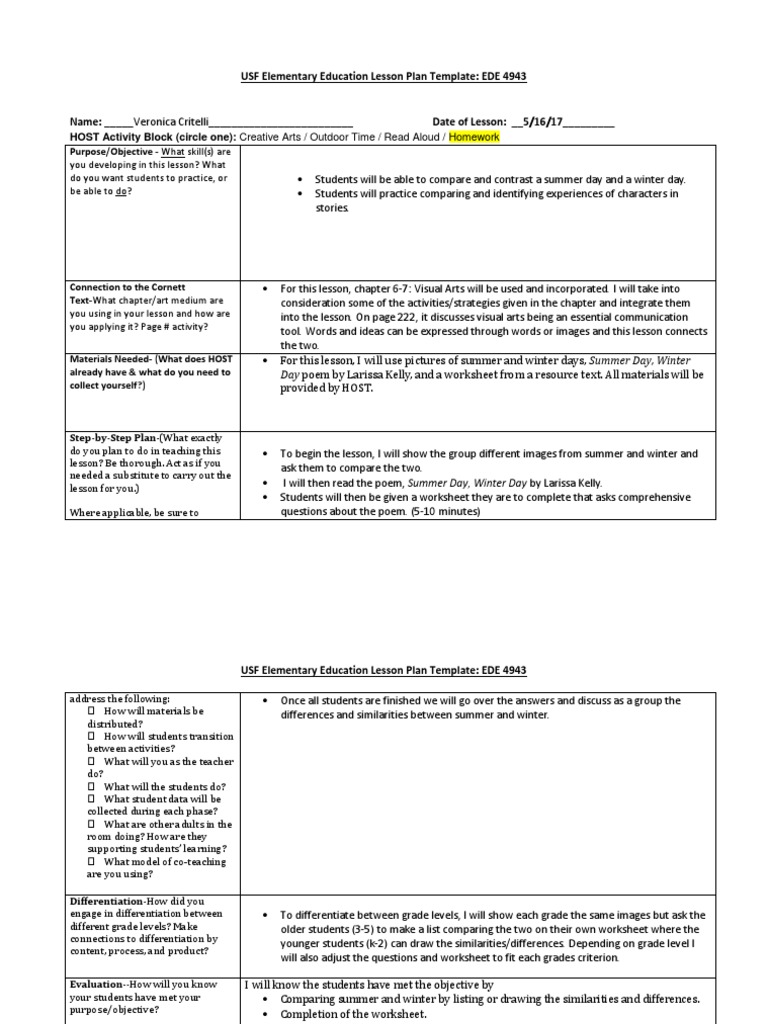 graphic relating to All Summer in a Day Worksheet known as site 5 Lesson Program Semiotics