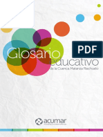 Acumar - Glosario educativo