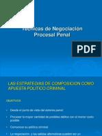 Tecnicas de Negociacion Procesal Penal[1]