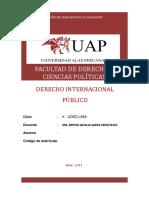 Resolución Trabajo Práctico Derecho Internacional Publico