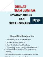 Khutbah Jum Ah
