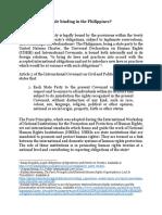 Paris Principle Research