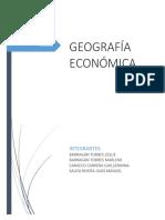 Analisis Introduccion a La Geo. Economica