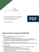 Sosialisasi SNI ISO-IEC 20000 - Sistem Manajemen Layanan