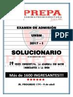 ADMISION 2017 - I -SOLUCIONARIO.pdf