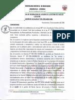 Resolucion de Veedor NE Huancarama