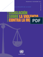 Handbook for Legislation on VAW (Spanish)