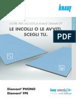 [10085]Diamant FPE PHONO Flyer 4 Ante A4 Pagine Singole