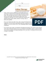 ADA OsteoporosisNutritionTherapy