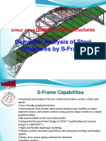 S-Frame Design of Steel Structures
