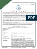 1.3.7~1.3.8 - PAROC Marine Fire Slab 100#40+25 (A60 Steel Deck) - ABS.pdf