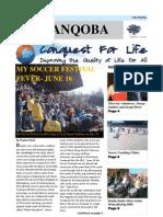 Conquest for Life Umanqoba Newsletter July - September 2010