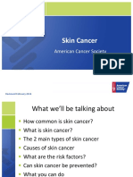 Skin Cancer Presentation Short Version