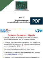 Aula 16 - Nmeros Complexos Forma Algbrica