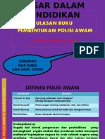 Pembentukan Polisi Awam