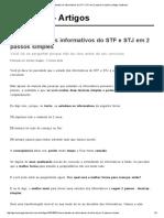 Como Estudar Os Informativos Do STF e STJ Em 2 Passos Simples _ Artigos JusBrasil