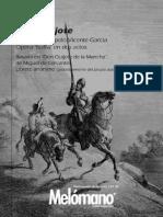 107. M. Del Popolo Vicente García - Don Quijote