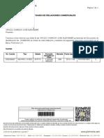 Certificado Bancario Alex Orozco