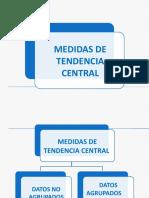 Estadística Medidas de Tendencia Central