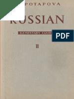 Potapova Nina Russian Elementary Course Book 2