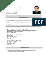 CV of Md. Tariqul Islam-1