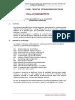 4.- Especificaciones Tecnicas Electricas Mercado Chanta