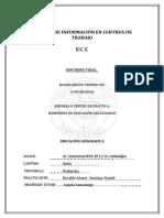 Modulo de Información en Centros de Trabajo