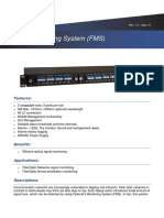 Fiber Monitoring System (FMS)