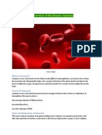 An Overview of the Disease Anaemia