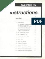 Superflow 110 Instructions