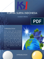 Profil PT. KURNIA SURYA INDONESIA