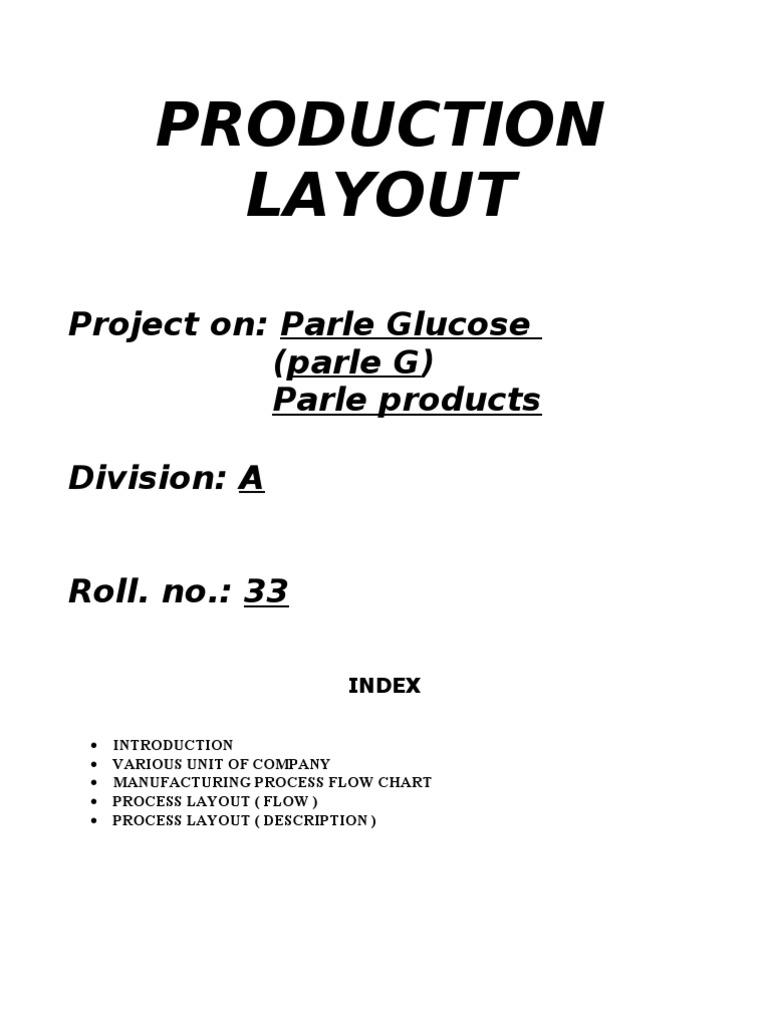 Parle G Dough Hvac Process Flow Diagram Layout