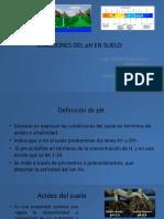5. pH del Suelo