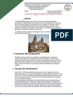 Cosolidacion de La Iglesia Metrpoloitana de Mexico d.f. Deber 5