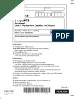 June 2014 (R) QP - Unit 5 Edexcel Physics a-level (1)