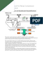 Bypass Method for Recip Compressor Capacity Control